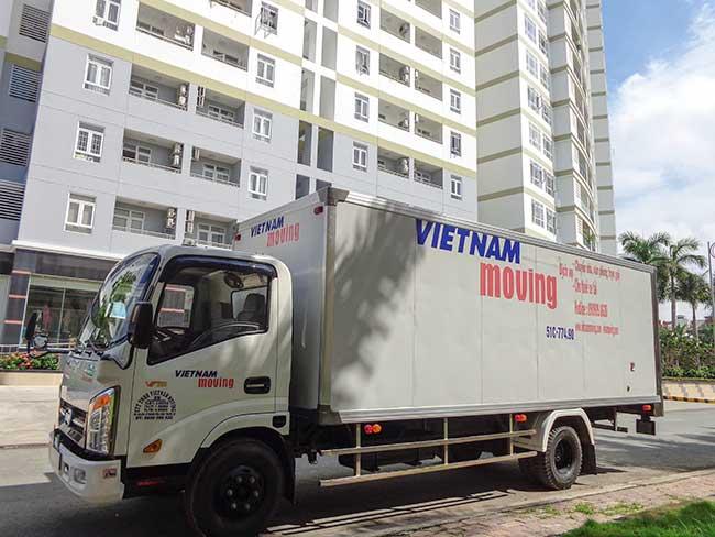 Taxi tải chuyển nhà ở Hồ Chí Minh