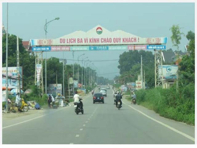 Taxi tải huyện Ba Vì, Hà Nội-Cùng lăn bánh trên những cung đường mới