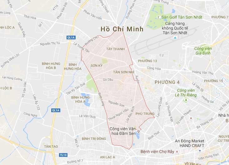 Taxi tải quận Tân Phú giá cả phải chăng, chất lượng đảm bảo