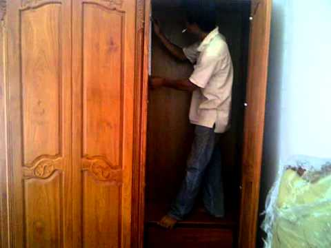 Cách tháo lắp tủ quần áo nhanh chóng và hiệu quả khi chuyển nhà