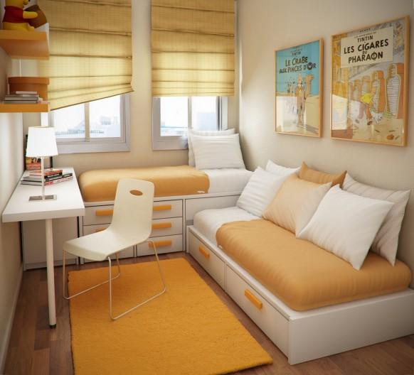 thiết kế bố trí phòng ngủ