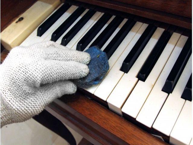 Cách bao bọc, đóng gói đàn piano