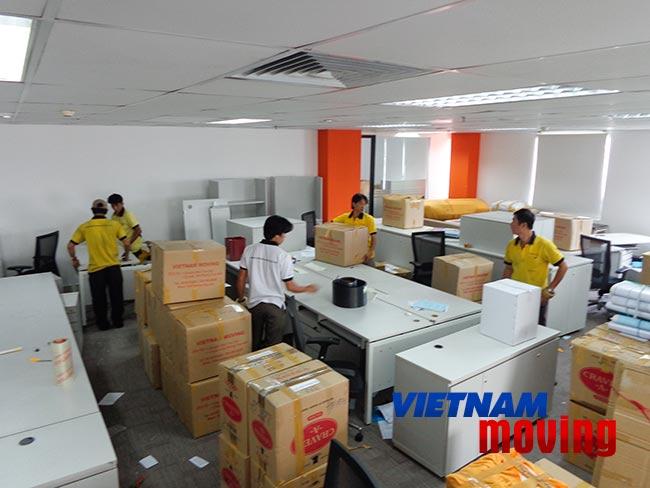 Vina Moving – Công ty chuyển văn phòng giá rẻ uy tín nhất TP.HCM