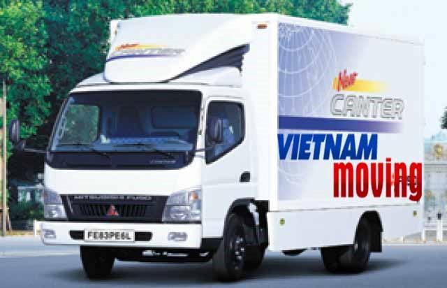 Cách chuyển văn phòng bằng xe tải nhỏ - Vinamoving